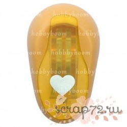 Дырокол фигурный HB 1 см №23 - сердце