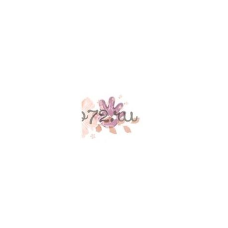 """Пуговица """"Детская ладошка"""" """"GAMMA"""", цвет розовый, 8 мм, 1шт"""