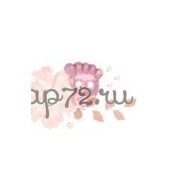 """Пуговица """"Детская ножка"""" """"GAMMA"""", цвет розовый, 8 мм, 1шт"""