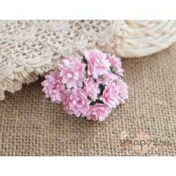 Астра, цвет нежно-розовый, 15мм, 1 цветочек