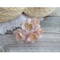 Цветы вишни, цвет бледно-розовый, 25мм, 1 цветок