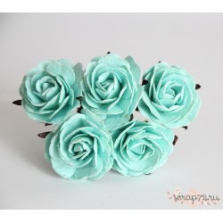 Роза крупная, цвет мятный, 4 см, 1цветок
