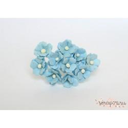 Лютики, цвет Голубой, 2см, 10шт