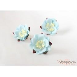 Сакура, цвет Голубой, 4.5см, 1шт