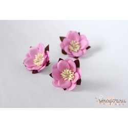 Сакура, цвет Розовый, 4.5см, 1шт