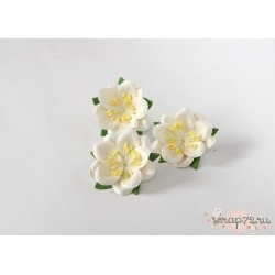 Сакура, цвет Белый, 4.5см, 1шт