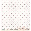 Лист бумаги для скрапбукинга 30,5х30,5 см 190 гр/м односторон Fancy Spring 3796