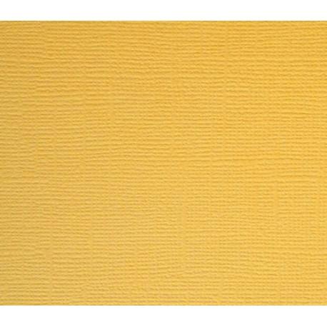 Кардсток текстурированный СВЕТЛОЕ ЗОЛОТО, 30,5*30,5 см, 1 лист, 216 гр/м