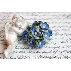 Лютик, синий, 1.5см, 10 цветочков