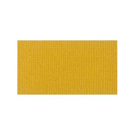 Кардсток текстурированный Шафраново-желтый, 30,5*30,5 см, 216 гр/м