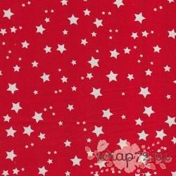 Ткань для рукоделия 50*50см (100% хлопок) HY003011, Звезды красн