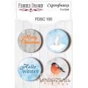 Набор скрапфишек из 4 шт. FDSC 100