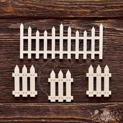 Чипборд Забор 3,  Размер набора 10 *8,5 см,  CB329