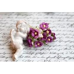 Лютик, фиолетовый, 1.5см, 10 цветочков