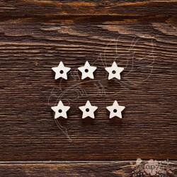 Чипборд Подложки для анкеров звёздочка,  6элементов, ,  1,4*2,5мм,  CB487