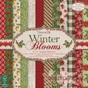 1/4 набора односторонней бумаги Dovecraft Winter Blooms, 20*20, 12л, 150гр