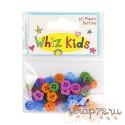 Набор разноцветных пуговиц Whiz Kids, 60шт