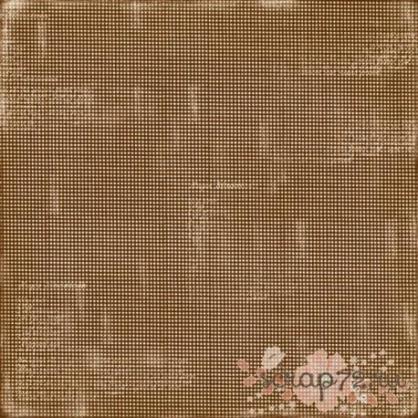 Лист двусторонней бумаги MajaDesign  Fika - Kladdkaka, 30*30см