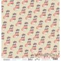 Лист «Лисы» из коллекции «Одевайся теплее», 30,5 x 30,5 см