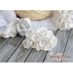 Лютик, белый, 1.5см, 10 цветочков