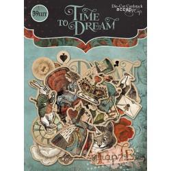 Набор высечек для скрапбукинга 39шт от Scrapmir Time to Dream