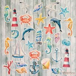 """Набор высечек """"Sea party"""""""