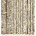 Лист бумаги для скрапбукинга 30,5х30,5 см 190 гр/м односторон Magic wood  - Love is in the air