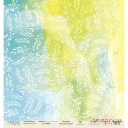 Лист бумаги для скрапбукинга 30,5х30,5 см 190 гр/м односторон Fresh  - Love is in the air