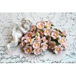 Лютик, нежно-розовый, 1.5см, 10 цветочков