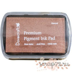 Чернильная подушечка Dovecraft, цвет натуральный, 7*4,5см