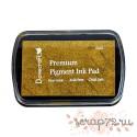 Чернильная подушечка Dovecraft, цвет Золото, 7*4,5см