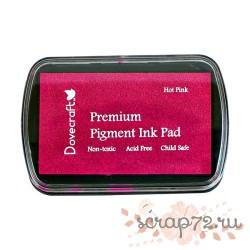 Чернильная подушечка Dovecraft, цвет ярко-розовый, 7*4,5см