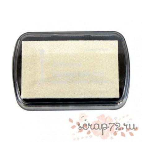 Чернильная подушечка Dovecraft, цвет белый, 7*4,5см