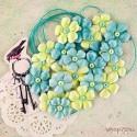 Цветы тканевые Royal Menagerie от Prima Marketing, 24шт