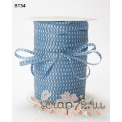 Лента от May Arts, цвет нежно-голубой, 3мм, 90см