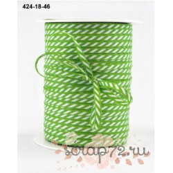 Лента от May Arts, цвет салатовый, 3мм, 90см