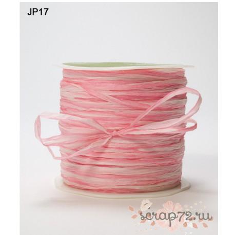 Рафия от May Arts, цвет розовый, 90см