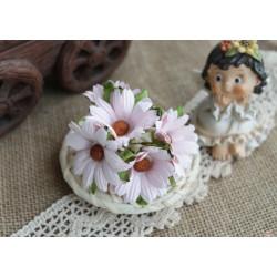 Хризантема, цвет нежно-розовый, 4.5см, 1цветок