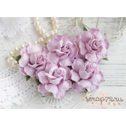 Роза, цвет лиловый, 45мм, 1 цветок