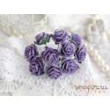 Роза Мальбери, цвет фиолетовый, 20мм, 1 цветок