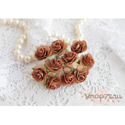 Роза Мальбери, цвет бурый, 20мм, 1 цветок