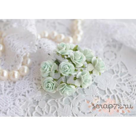 Роза Мальбери, цвет светло-бирюзовый, 1 цветок