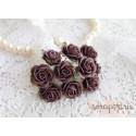 Роза Мальбери, цвет сливовый, 20мм, 1 цветок