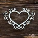 Рамка сердце (13х9,7см), CB305