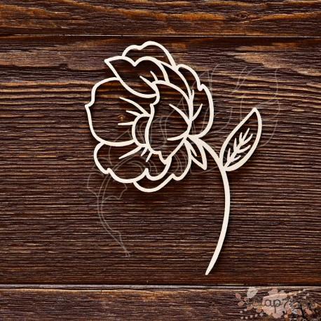 Цветок (7,1 х 10 см), CB478