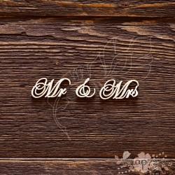 Mr & Mrs №3 (7,5х1,6 см), CB501