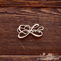 Надпись Love №3 (5,5х3,3см), CB705