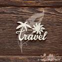 Надпись Travel (6,5 х 3,9 см), CB829