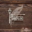 Вывеска BERLIN (7 х 6,2 см), CB830