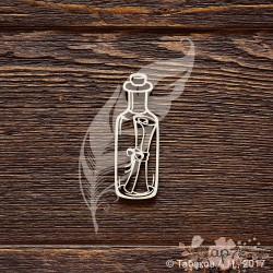 Письмо в бутылке (2,1 х 6 см), CB832